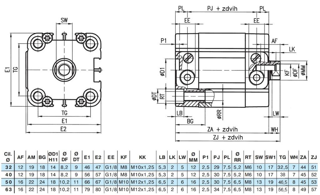 Rm2000400010 Valec 40 10 Mm Iso21287 Dvojcinny Vnitrni Zavit Magnet